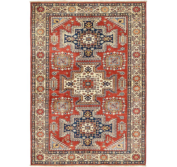 4' 2 x 6' Kazak Oriental Rug