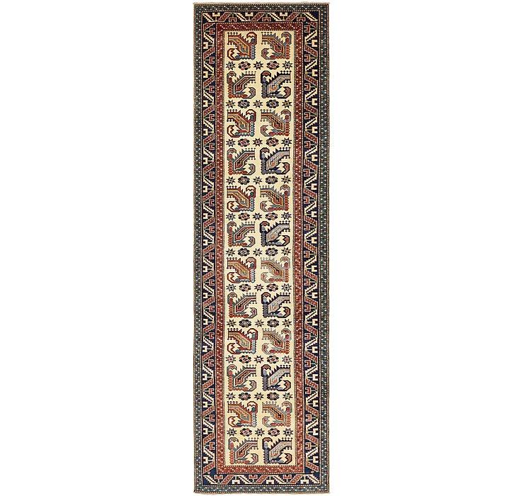 85cm x 318cm Kazak Oriental Runner Rug