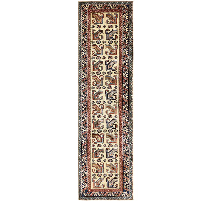 2' 9 x 10' 5 Kazak Oriental Runner Rug