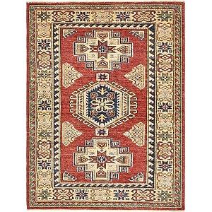 Unique Loom 3' 4 x 4' 5 Kazak Rug