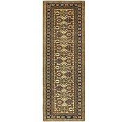 Link to 2' 10 x 8' 3 Kazak Oriental Runner Rug