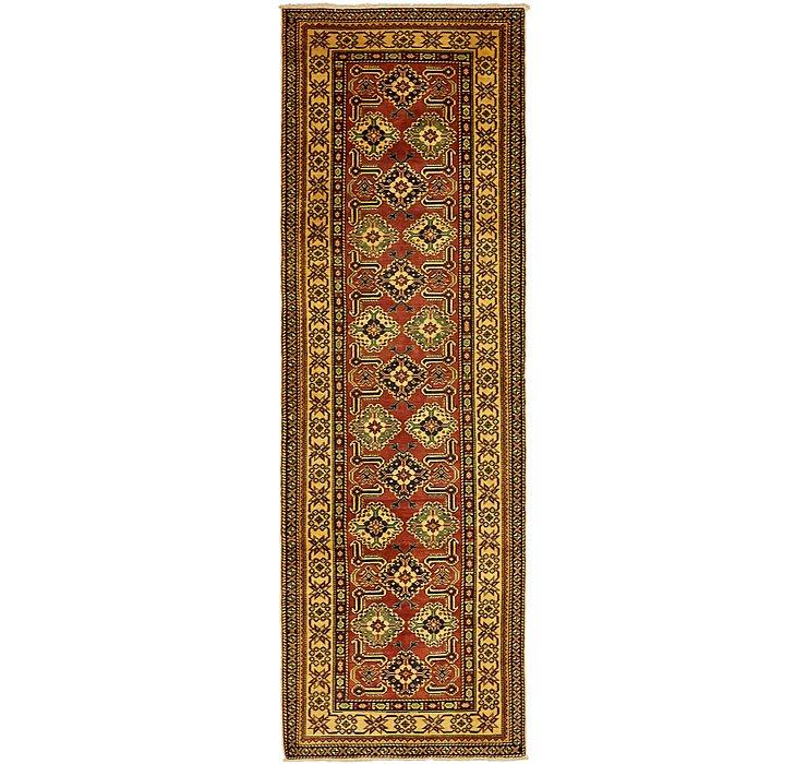 2' 10 x 9' Kazak Oriental Runner Rug