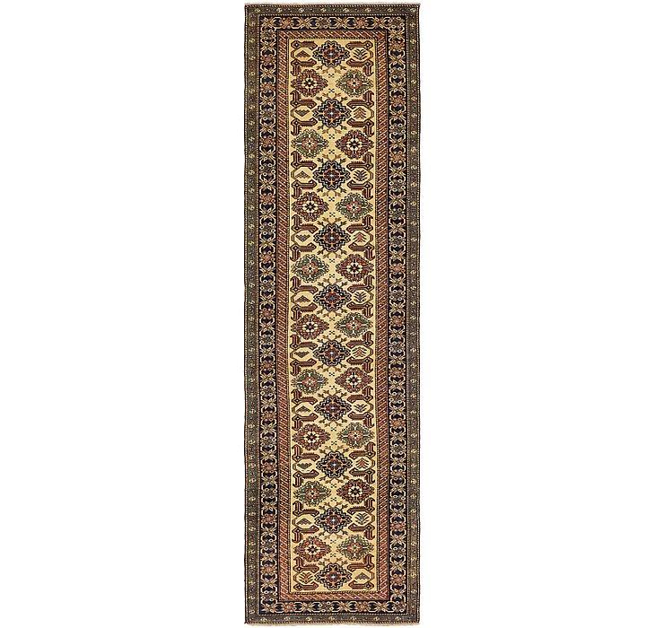 2' 9 x 10' 4 Kazak Oriental Runner Rug