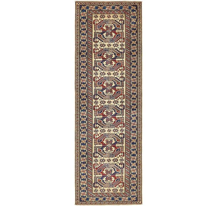 2' 9 x 8' 5 Kazak Oriental Runner Rug
