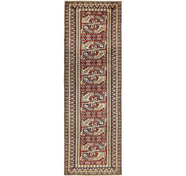 2' 10 x 8' 9 Kazak Oriental Runner Rug
