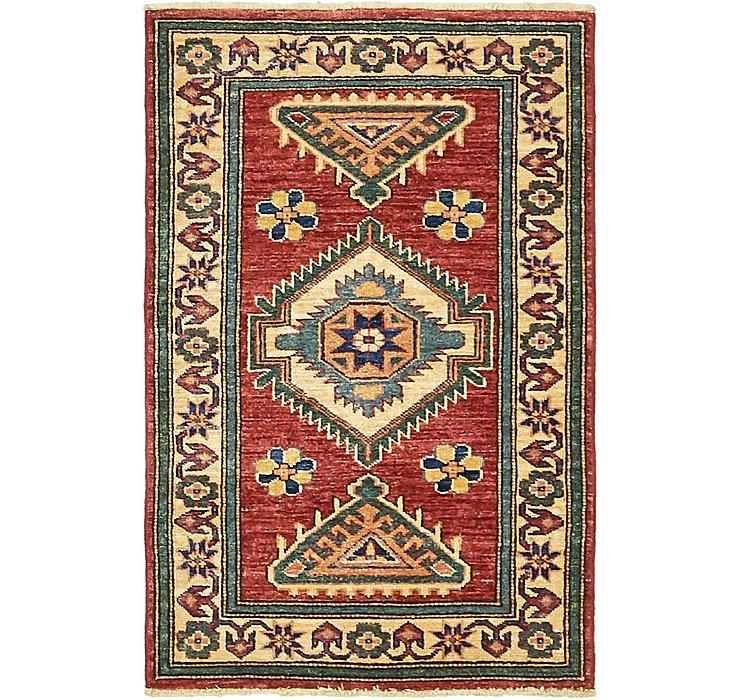 2' x 3' 3 Kazak Rug