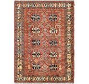 Link to Unique Loom 6' 7 x 9' Kazak Oriental Rug