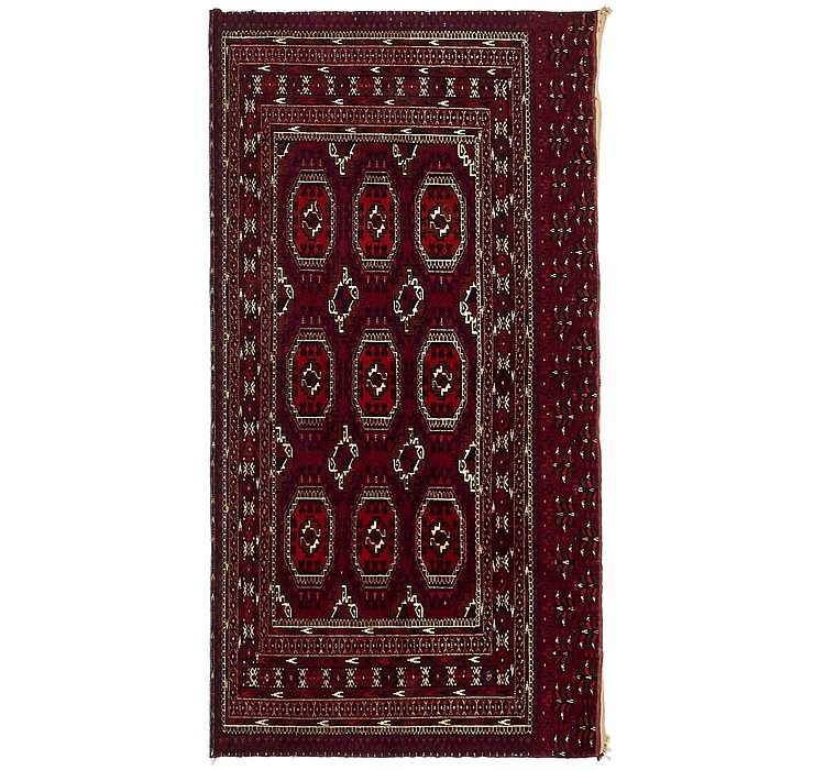 2' 8 x 5' Torkaman Persian Rug