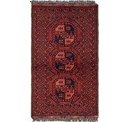 Link to 2' 9 x 4' 8 Afghan Ersari Oriental Rug