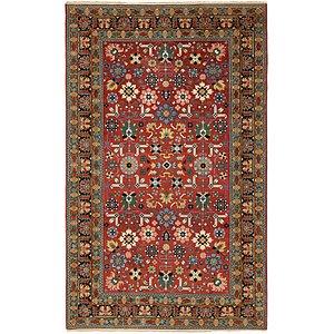 Unique Loom 6' 2 x 10' 2 Kazak Oriental Rug