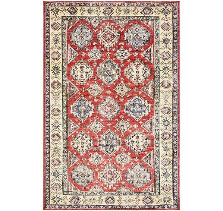 6' 7 x 10' 2 Kazak Oriental Rug