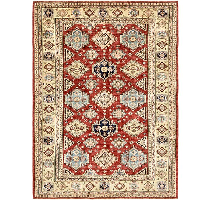6' 10 x 9' 4 Kazak Oriental Rug