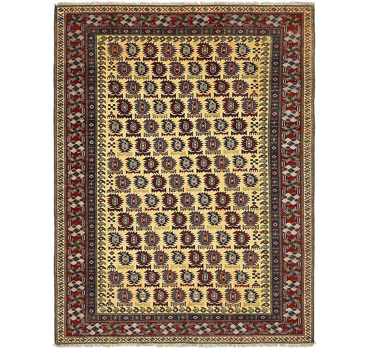 4' x 5' 6 Kazak Rug