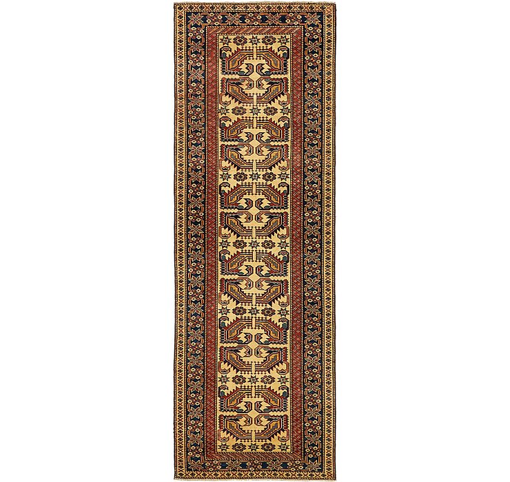 2' 9 x 8' 6 Kazak Oriental Runner Rug