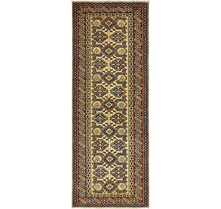 85cm x 240cm Kazak Oriental Runner Rug