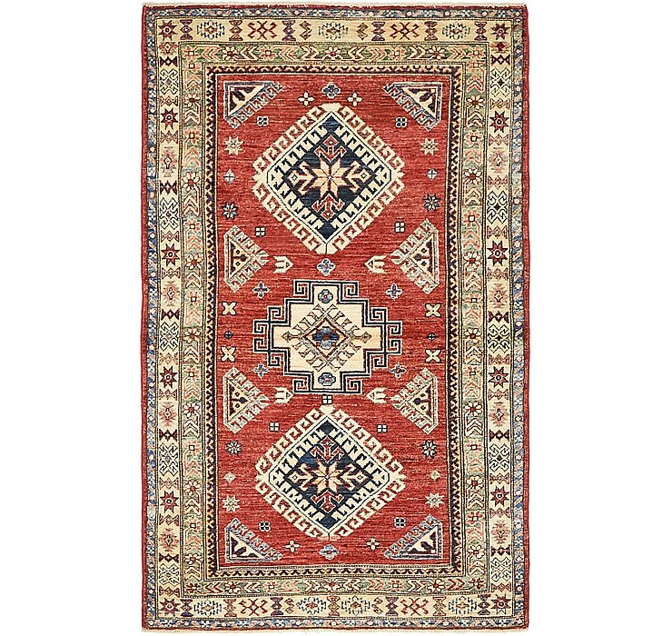 3' 3 x 5' 4 Kazak Oriental Rug