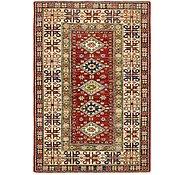 Link to HandKnotted 3' 3 x 4' 10 Kazak Oriental Rug