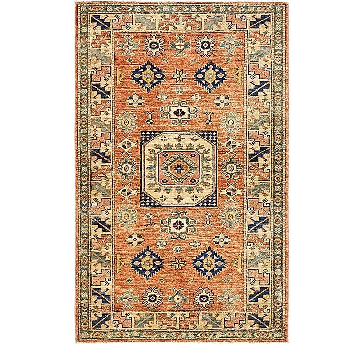 3' x 4' 10 Kazak Oriental Rug
