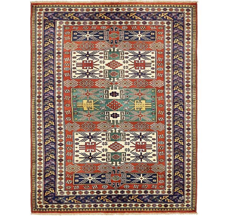 4' 6 x 6' Kazak Oriental Rug