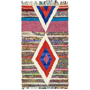 3' 10 x 6' 10 Moroccan Rug