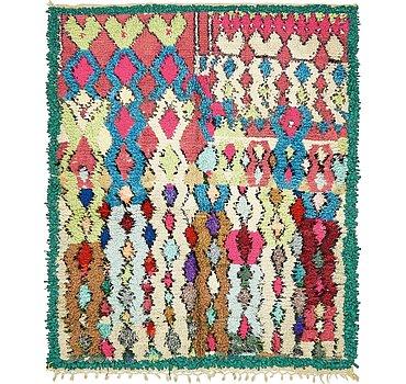135x165 Moroccan Rug