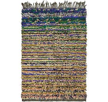 97x135 Moroccan Rug