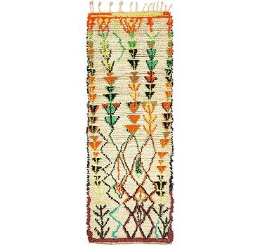 81x229 Moroccan Rug