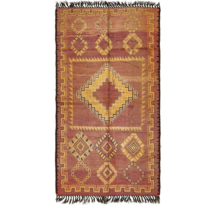 HandKnotted 5' x 9' 9 Moroccan Rug