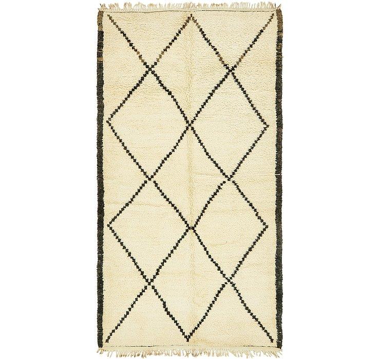5' 5 x 10' 2 Moroccan Rug