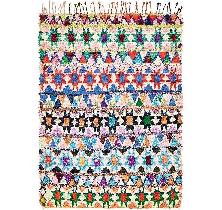 5' 8 x 7' 9 Moroccan Rug