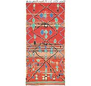 Link to 4' 5 x 9' 3 Moroccan Runner Rug