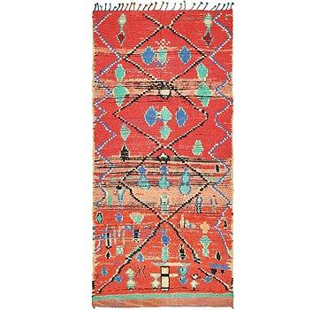135x282 Moroccan Rug