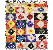Link to 137cm x 157cm Moroccan Square Rug