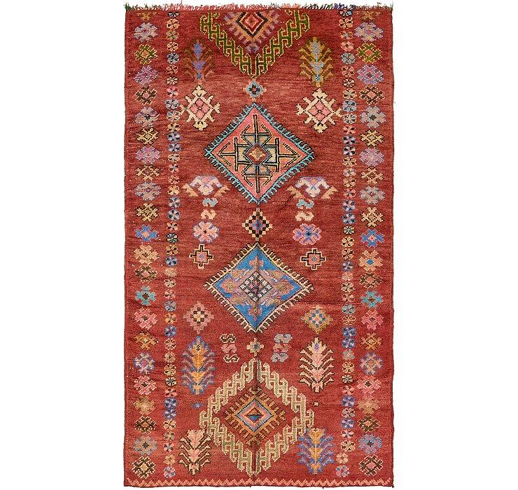 4' 10 x 8' 7 Moroccan Rug