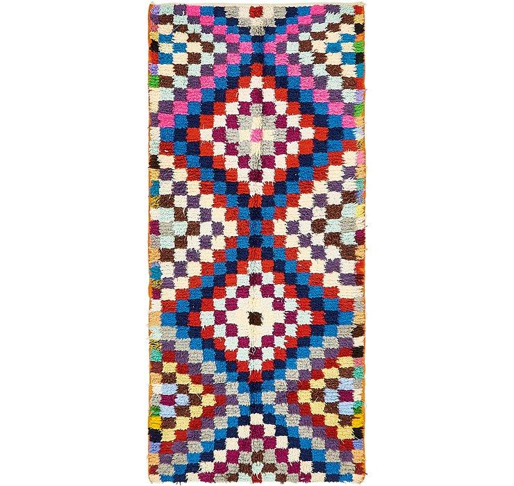 4' x 8' 10 Moroccan Rug