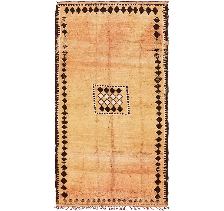 5' 6 x 10' Moroccan Rug