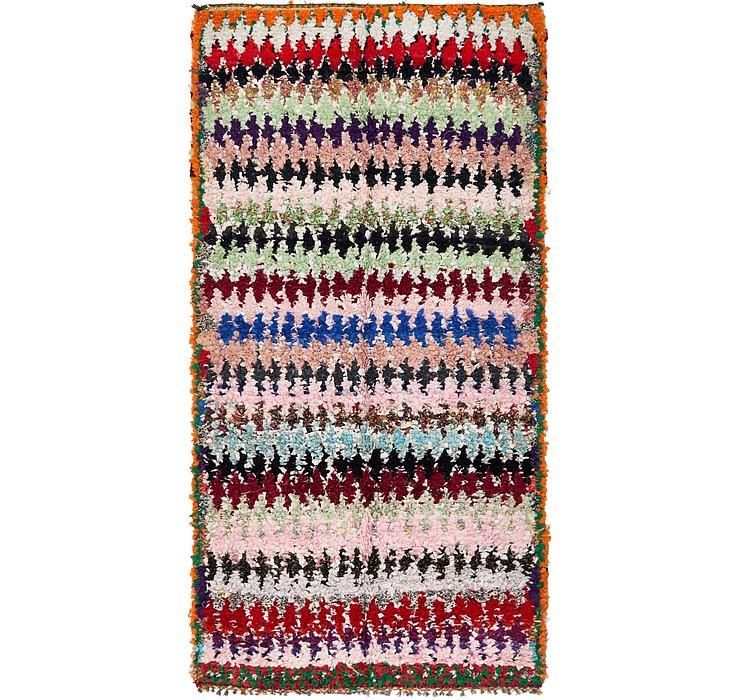 5' 1 x 9' 8 Moroccan Rug