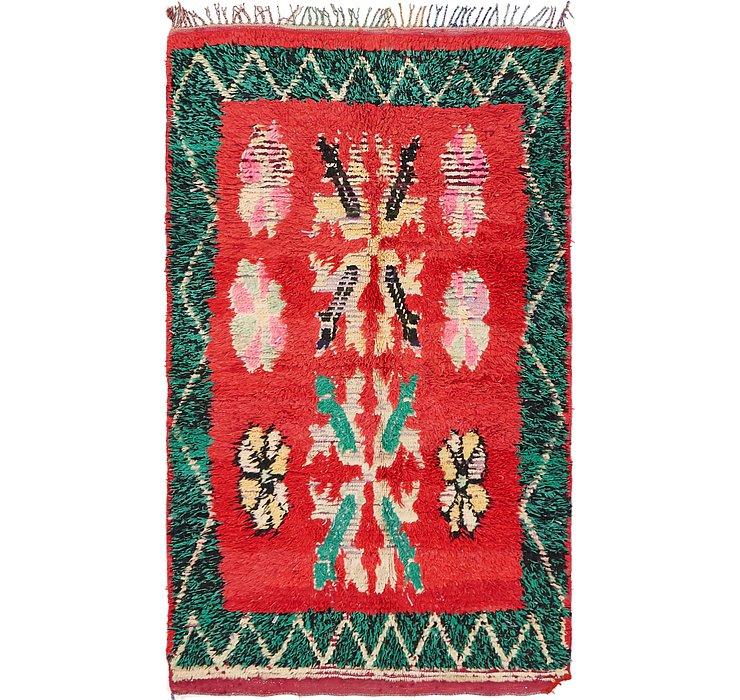 3' 8 x 6' 5 Moroccan Rug