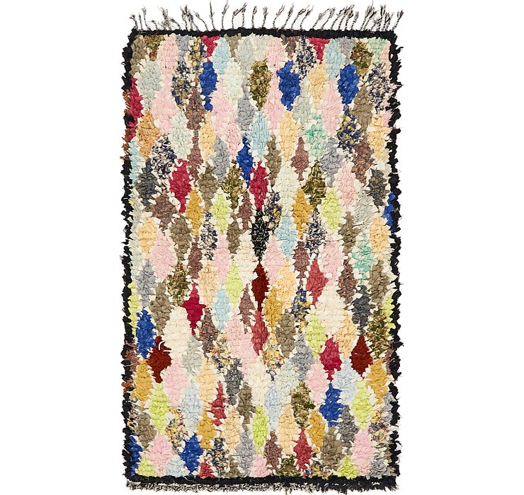 HandKnotted 3' 5 x 5' 11 Moroccan Rug