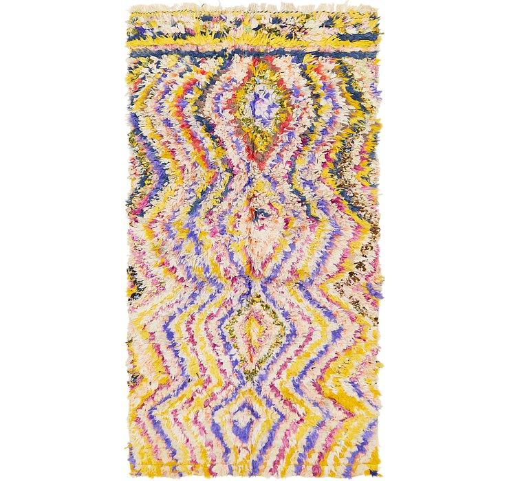 4' 9 x 9' Moroccan Rug