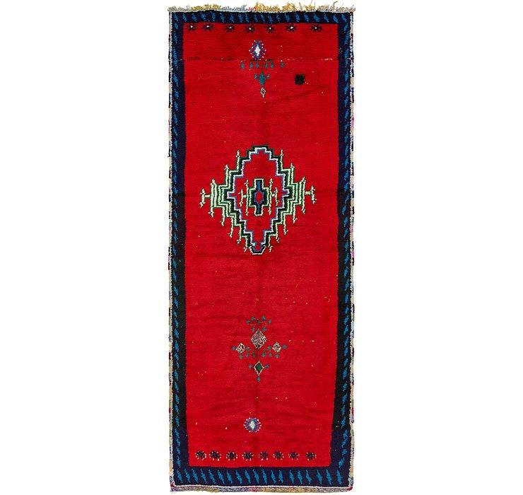 4' 4 x 12' Moroccan Runner Rug