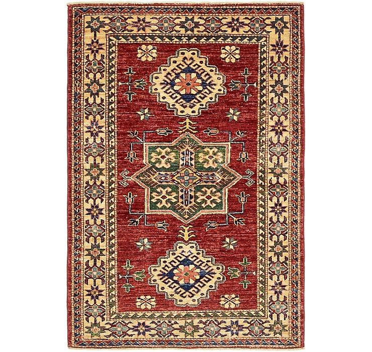 3' x 4' 7 Kazak Rug