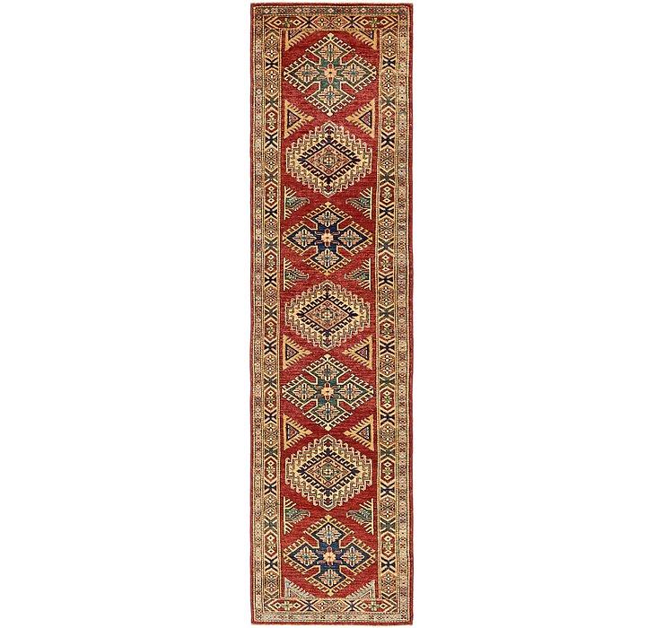2' 5 x 10' Kazak Runner Rug