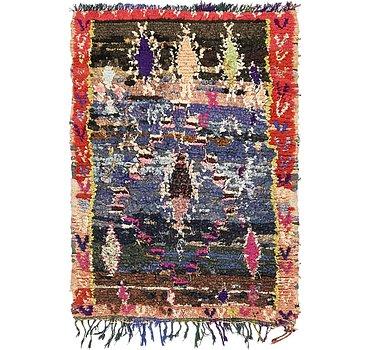 104x140 Moroccan Rug