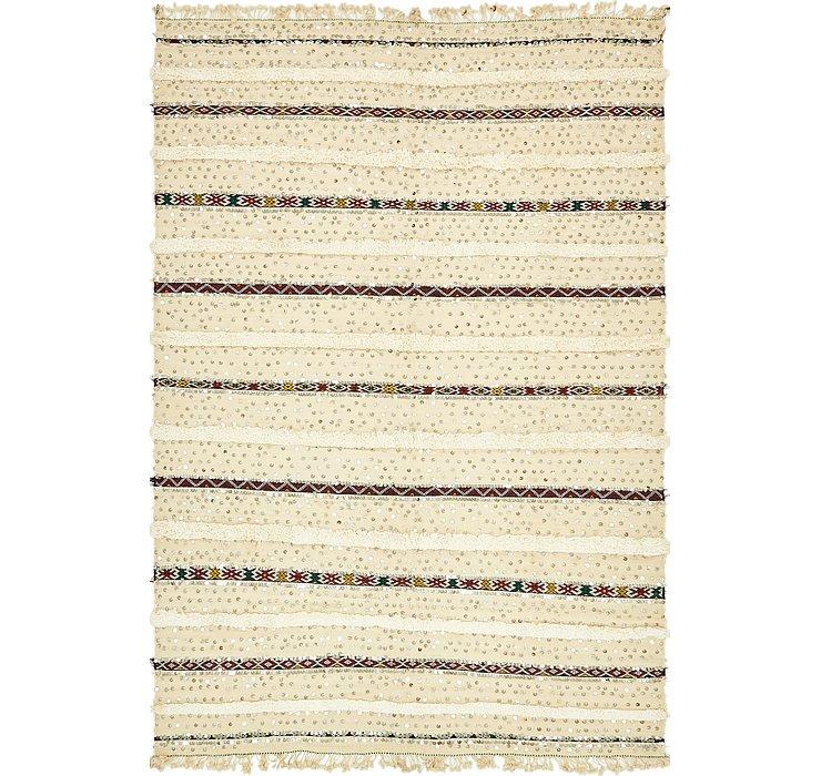5' 7 x 8' 5 Moroccan Rug