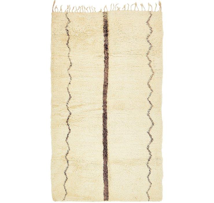 5' 9 x 10' Moroccan Rug