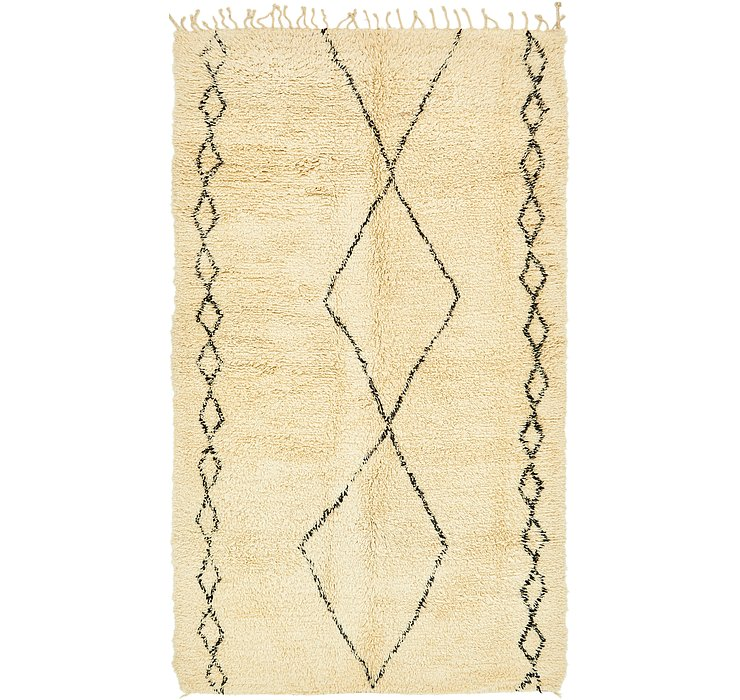 6' 7 x 11' 8 Moroccan Rug
