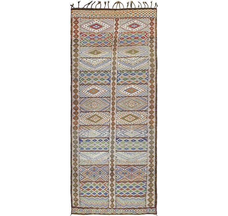 178cm x 452cm Moroccan Runner Rug