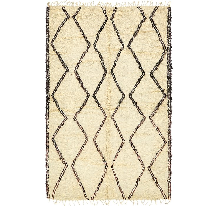 5' 4 x 9' Moroccan Rug