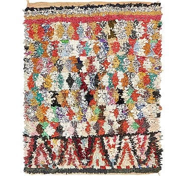 163x201 Moroccan Rug